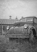 Edward Fielding - Old farm truck out by the barn