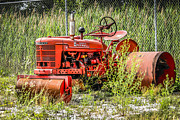 Machinery Originals - Old Farmall Tractor  by Chris Smith
