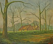 Andries Hartholt - Old farmhouse