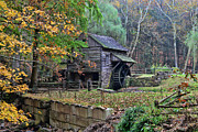 Grist Mill Posters - Old Fashion Mill Poster by Paul Ward