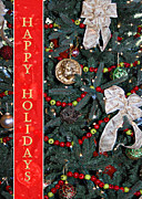 Carolyn Marshall Posters - Old Fashioned Christmas Poster by Carolyn Marshall