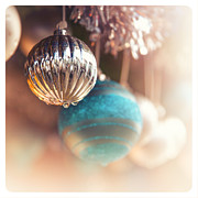 Processed Prints - Old-fashioned Christmas decorations Print by Jane Rix
