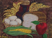Corn Paintings - Old Fashioned Goodness by Sharon Duguay