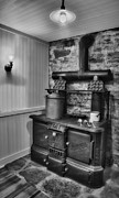Heritage Home Posters - Old fashioned Richardson and Bounton Company Perfect stove. Poster by Susan Candelario