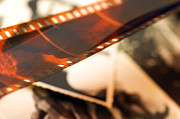 Video Art - Old film strip and photos background by Michal Bednarek