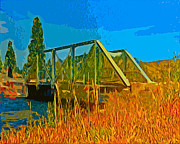 Bruce J Barker - Old Firehole Bridge