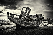 Kent Prints - Old Fishing Boat Print by Ian Broadmore