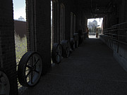 Old Mills Prints - Old Flour Mill Corridor Print by Daniel Hagerman