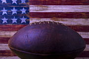 Garry Gay - Old Football With Flag