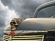 Hood Ornaments Art - Old Fords Never Die by Gill Billington