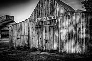 Old Fort Wayne Blacksmith Shop Print by Gene Sherrill