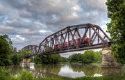 Arkansas Prints - Old Frisco Bridge Print by James Barber
