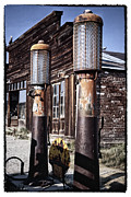 Pumps Prints - Old Gas Pumps Print by George Oze