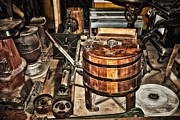 Barrel Mixed Media - Old General Store 3 by Todd and candice Dailey