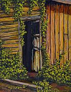 Old Door Painting Framed Prints - Old General Store Framed Print by Darice Machel McGuire