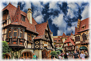 Rothenburg Posters - Old German Town II Poster by Lee Dos Santos