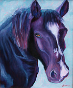 Horse Racing Paintings - Old Girl by Todd Bandy