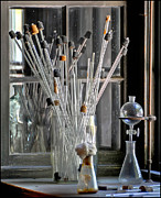 Geraldine Alexander - Antique Glass Pipettes