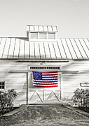 Flag Of Usa Photo Prints - Old Glory Circa 1776 Print by Edward Fielding