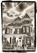 Ghost House Posters - Old Glory House Poster by Paul W Faust -  Impressions of Light