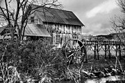 Rustic Mill Framed Prints - Old Grist Mill Framed Print by Greg Sharpe