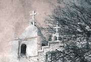 White Church Prints - Old Guadalupe Church Print by Julie Lueders