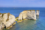 Bluff Posters - Old Harry Rocks - Purbeck Poster by Joana Kruse