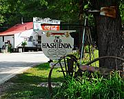 Small Towns Photo Metal Prints - Old Hashienda Metal Print by Mel Steinhauer