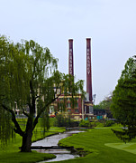 Hershey Framed Prints - Old Hershey Chocolate Factory Framed Print by Bill Cannon