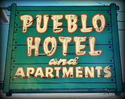 Karyn Robinson - Old Hotel Sign