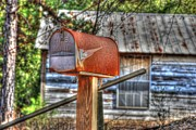 Old Country Roads Photos - Old House 07 by Andy Savelle