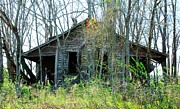 Old Country Roads Photos - Old House 18 by Andy Savelle