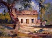 R W Goetting - Old house in the trees