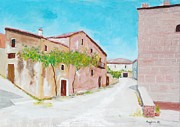 Mauro Beniamino Muggianu - Old houses near the old...