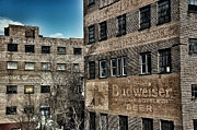 Ghost Signs Prints - Old Industry Print by Brandon Addis
