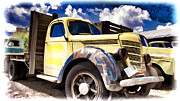 Ron Roberts Photography Prints Posters - Old International Hauler Poster by Ron Roberts