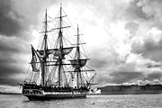 War 1812 Prints - Old Ironsides Print by Peter Chilelli