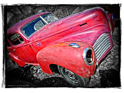 Junker Posters - Old Junker Car Poster by Edward Fielding