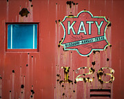 Caboose Framed Prints - Old Katy Caboose Framed Print by James Barber