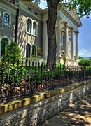 Roman Columns Prints - Old Kentucky Homes 1 Print by Mel Steinhauer