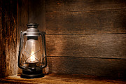Kerosene Lamp Photos - Old Kerosene Light by Olivier Le Queinec