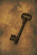 Gold Key Prints - Old Key Print by Christopher Elwell and Amanda Haselock