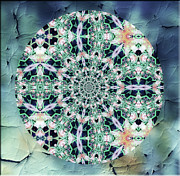 Brother Mixed Media - Old Lace Mandala by Zeana Romanovna