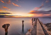 Lahaina Prints - Old Lahaina Sunset Print by Hawaii  Fine Art Photography