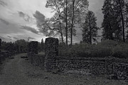 Old Liberty Park Ruins In Spokane Washington Print by Daniel Hagerman