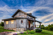 Keith Allen - Old Log Cabin