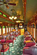 Strasburg Framed Prints - Old lounge car from early railroading days Framed Print by Paul W Faust -  Impressions of Light