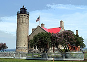 Terri Harper - Old Mackinac Point Light