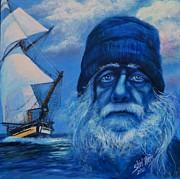 Ghostly Originals - Old Man and the Sea by Shirl Theis