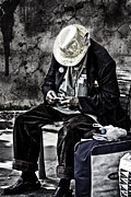 Elderly People Art - Old Man by Erik Brede